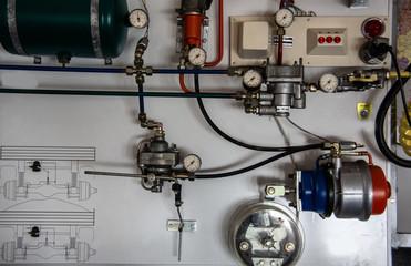 Kompressor Luftdruckbremse vom Lastwagen