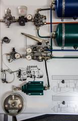 Kompressor Luftdruckbremse beim Lastwagen
