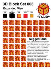 Baby Block Alphabet Toys - Illustrator 3D Objects