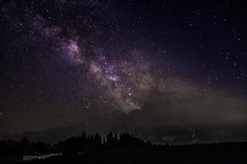 Photo sur Aluminium Pôle Milchstrasse Milky Way