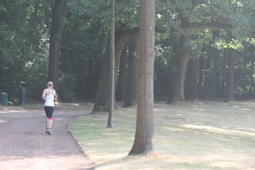 Fitness Joggen im Park
