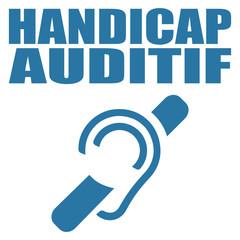Logo handicap auditif.