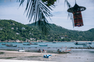 Thong Nai Pan Yai Beach During Low Tide