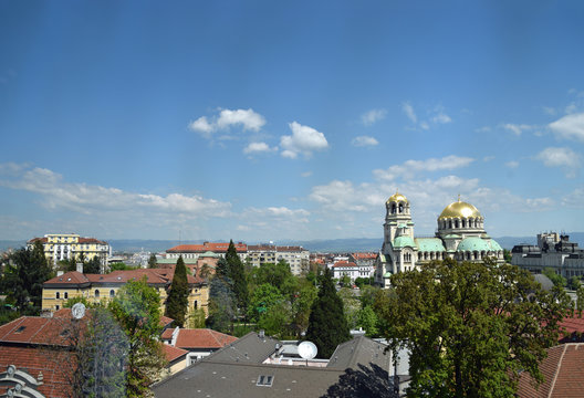 View over Sofia