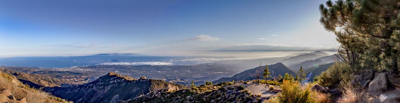 Dramatic Panoramic of Santa Barbara