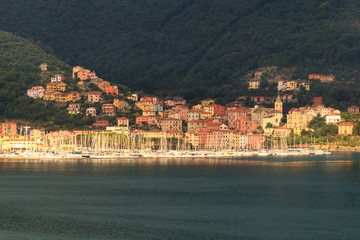 View of La Spezia near Cinque Terre, Italy