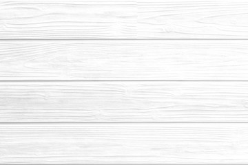 White vintage wood planks pattern and semaless background