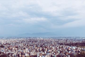 Cityscape of Kathmandu Nepal