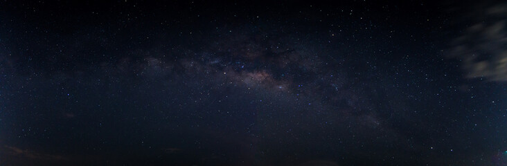 Sky background and stars at night Milkyway Wall mural
