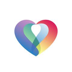 Heart Color Logo