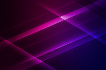 Dark abstract background with diagonal colorful figures