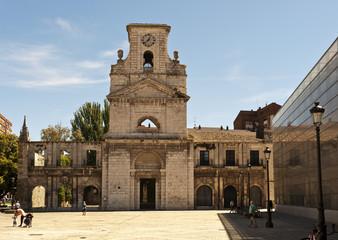 Ruine Kloster San Juan, Monasterio de San Juan,  Museo Municipal Marceliano Santa Maríal, Burgos, Spanien