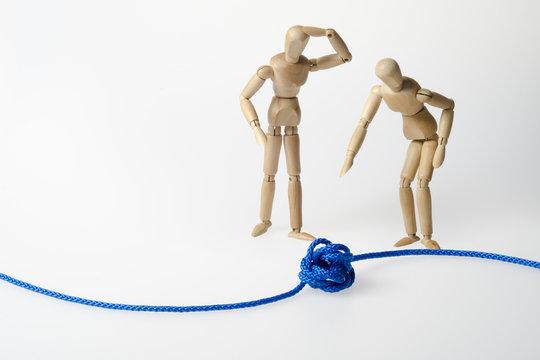 Knoten, Störung, Konflikt