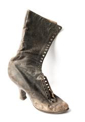 Ladies old vintage black Boot