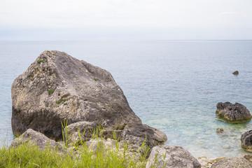 Corfu island beach