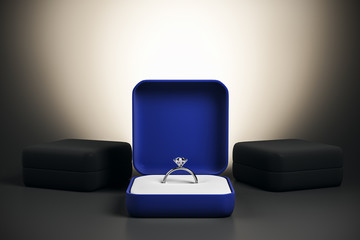 Wedding proposal and marriage