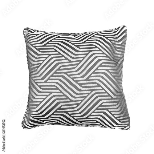 Decorative Pillow With Geometric Pattern Stockfotos Und Inspiration Geometric Pattern Decorative Pillows