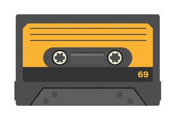 Orange Kompaktkassette