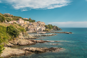 Village and harbour at Porticciolo in Corsica
