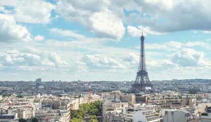 View on Eiffel Tower, Paris, France