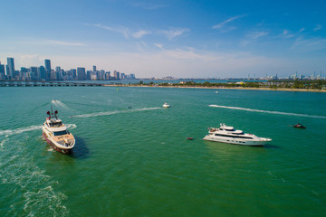 Yachts on charter in Miami Key Biscayne