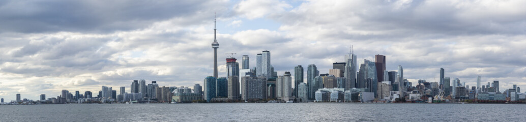 Toronto panoramic view of the city