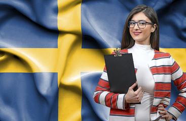 Businesswoman from Sweden
