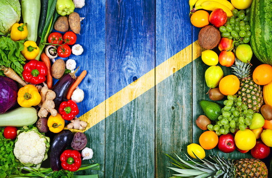 Fresh fruits and vegetables from Solomon Islands