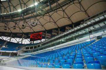Foto op Plexiglas Stadion Seats at the stadium