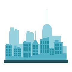 City building scenery vector illustration graphic design