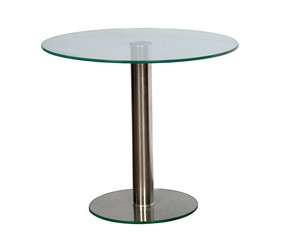 table with a glass table-top