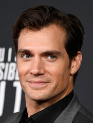 Actor Henry Cavill arrives for Mission:Impossible film premiere in Washington