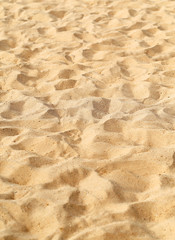 Photo of a macro background of white fine sand