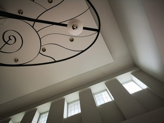 Close up ceiling lamp