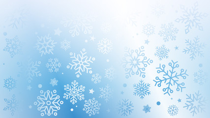 Fototapeta płatki śniegu tło wektor