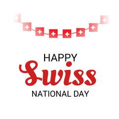 Happy Swiss National Day.