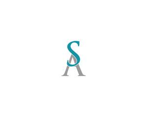 sa letter logo