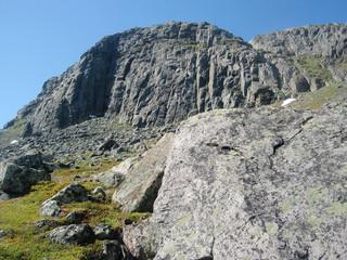 Mount Tjakkeli - The Gate to Sarek