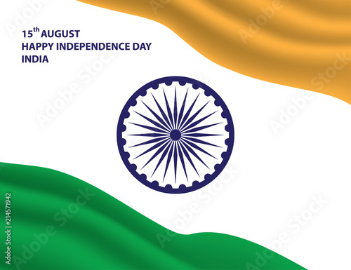 Happy Independence Day Of India Stock Image And Royalty Free Vector
