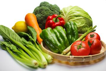 緑黄色野菜集合 raw vegetables
