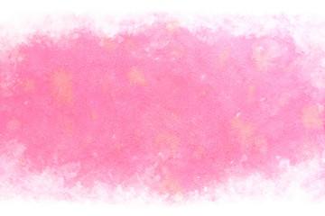 ピンク 抽象 新春 水彩 背景