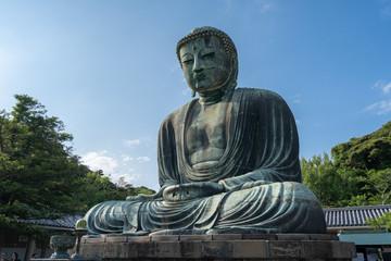 Kamakura Japan. 30 05 2018. Giant Buddha Daibutsu in Kamakura Japan