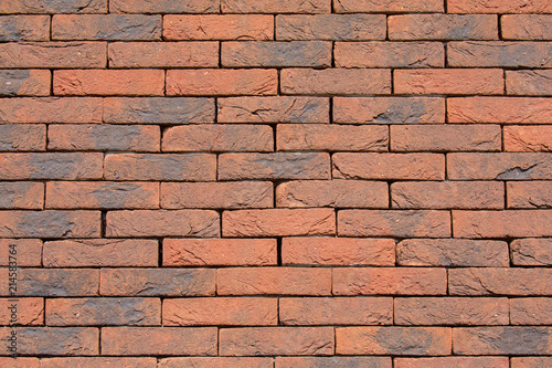 Background Brick Wall Without Cement Joints Stock Photo And Royalty