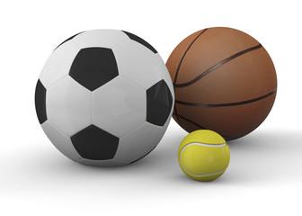 Sports Balls - 3D