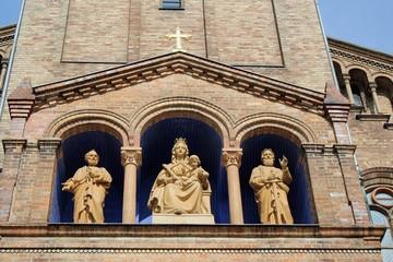 Die Probsteikirche St. Peter u. Paul in Potsdam.