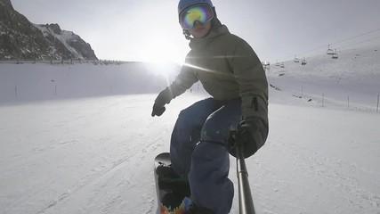Szukaj Zdjęć Snowboarder