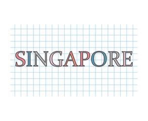 Singapore concept- vector illustration