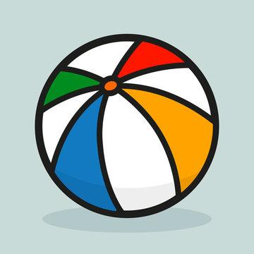 Vector illustration of ball design
