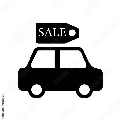 Sale Car Icon Vector Icon Simple Element Illustration Sale Car