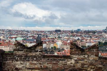 Ausblick der Prager Burg